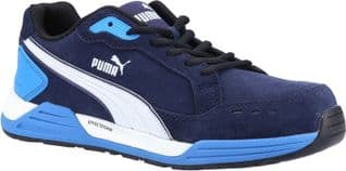 Puma Safety Trainers Safety Airtwist Low S3 Safety Trainer Blue ESD HRO SRC